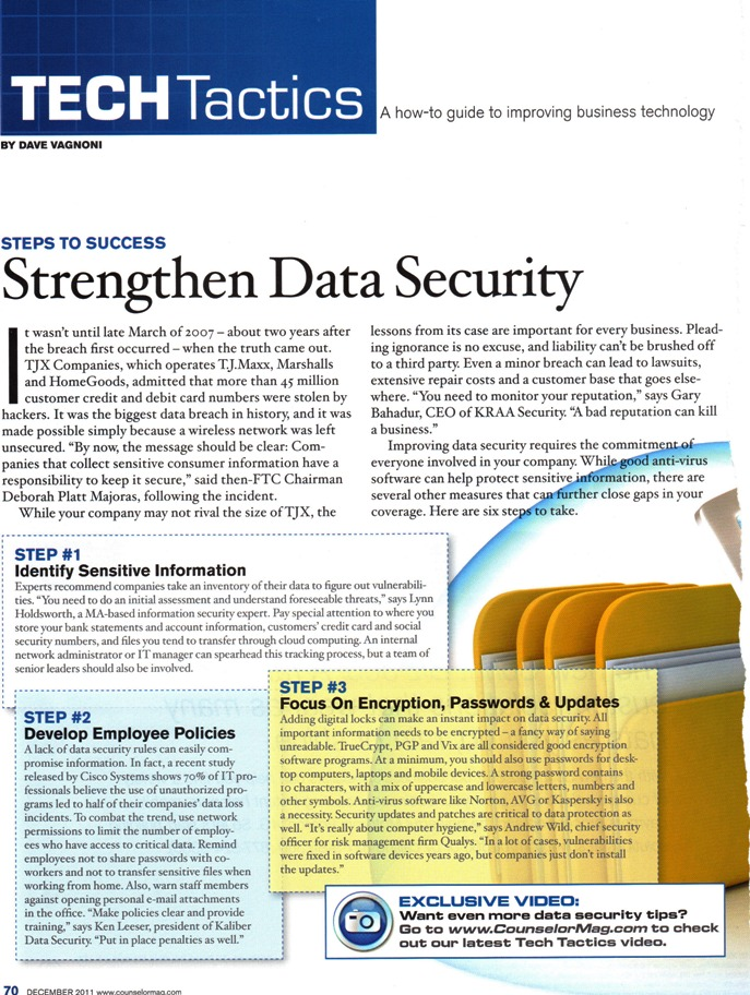 Data Security Article