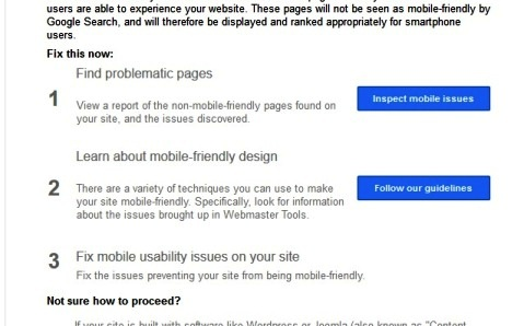 Google Mobility Issues